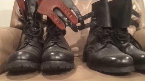 Yugoslavian (JNA) army boots