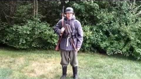 SS reenacting update eastern front (new lost battalions mouse grey parka)