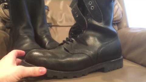 Portuguese marine boots