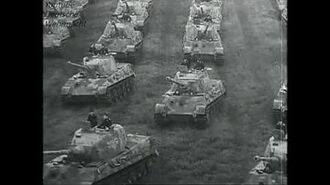 King Tiger 1944 footage
