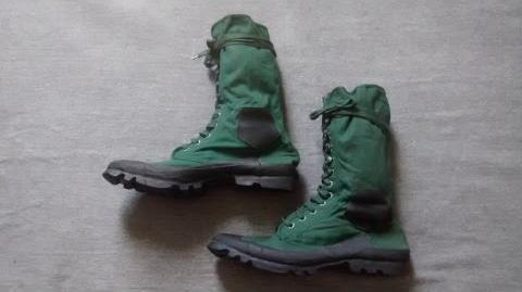 British Jungle Boots - Late 1940s to 1970s