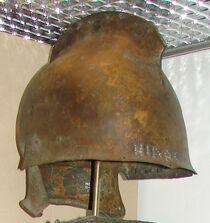Thracian type bronze helmet