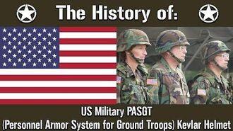 The History of US Military PASGT Kevlar Helmet Uniform History