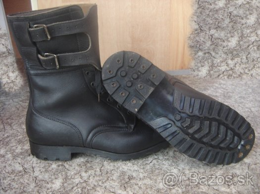 A pair of black vz. 60 combat boots 3de74e6923