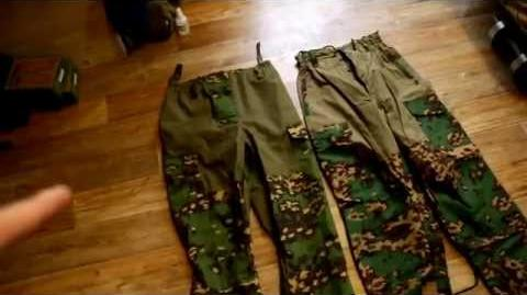 SPOSN and BARS Gorka Comparsion Review. Part 1. Pants