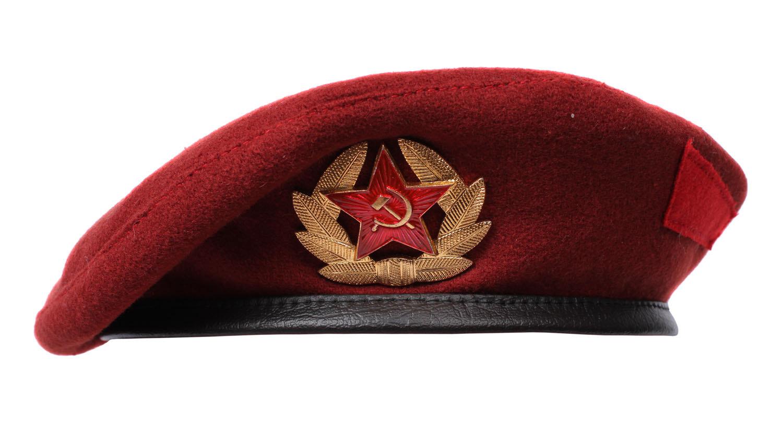 Military Wool Beret Big Red Beret 40112-in Men's Costumes ...  |Red Beret