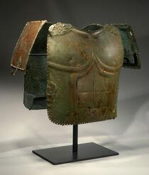 Phoenix ancient art samnite bronze anatomical cuirass 12324401106318