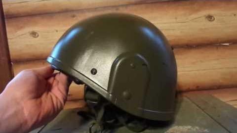 British Mk VI Ballistic Combat Helmet