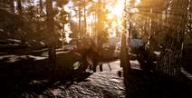 Redwoods Stegosaurus