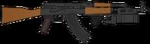 ИжМаш АКМ (СССР) ГП-25
