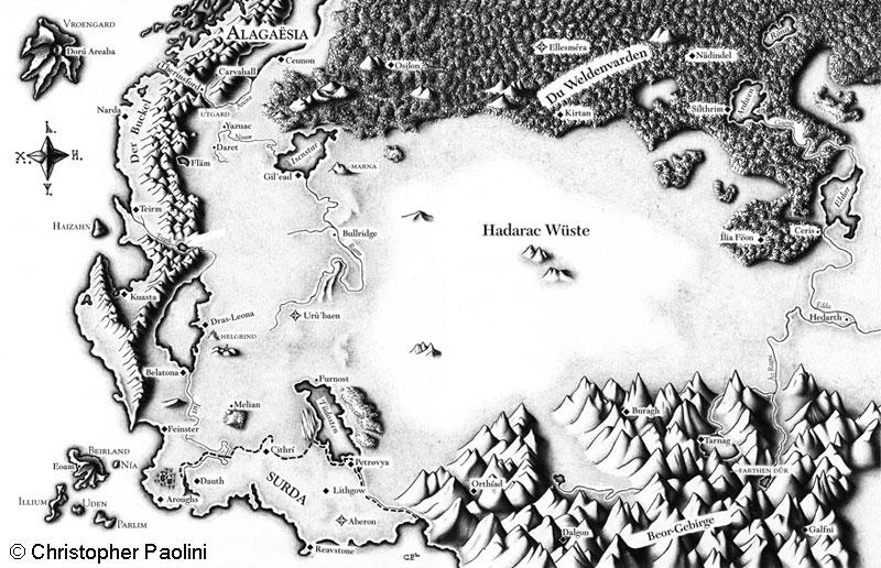 Eragon Karte.Die Welt Eragon Fandom Powered By Wikia