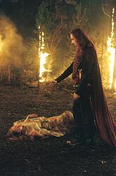 Durza und Arya