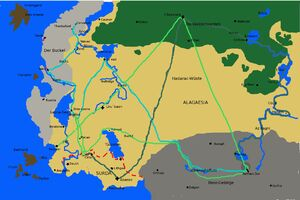Karte Alagaesia