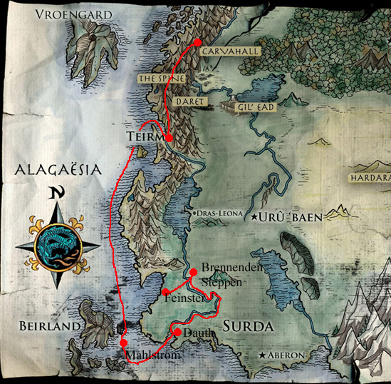 Eragon Karte.Die Flucht Der Bewohner Von Carvahall Eragon Fandom Powered By Wikia