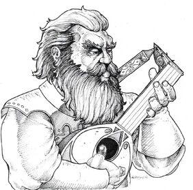 Dwarven Bard