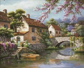 Country-Village-Canal