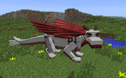 Red dragon iron armor