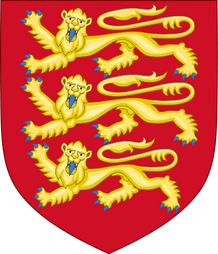 410px-Royal Arms of England (1198-1340) svg