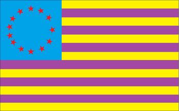UCN Flag Based upon Original US Flag