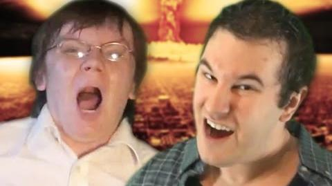 Angry Video Game Nerd vs The Irate Gamer - Epic Rap Battle Parodies Season 2-1