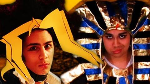 King Tut vs Yugi Muto - Epic Rap Battle Parodies Season 4-0