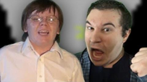 Angry Video Game Nerd vs The Irate Gamer - Epic Rap Battle Parodies Season 2-0