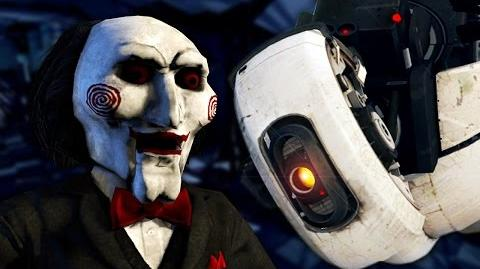 Jigsaw vs GLaDOS - Epic Rap Battle Parodies