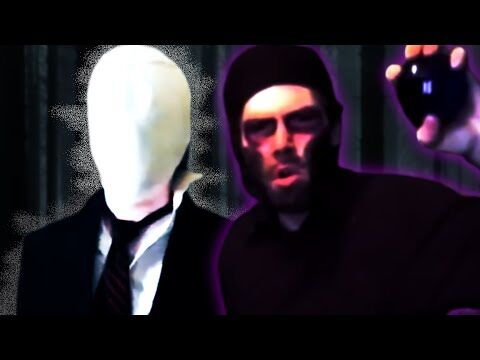 Slender Man vs Enderman - Epic Rap Battle Parodies Season 1