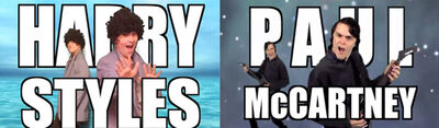 Harry Styles vs Paul McCartney WIKIA