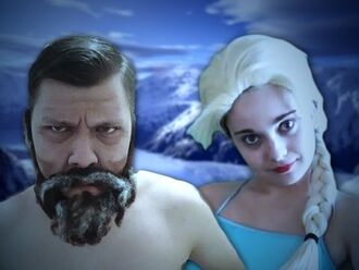 Ötzi vs Elsa - Epic Rap Battle Parodies Season 4