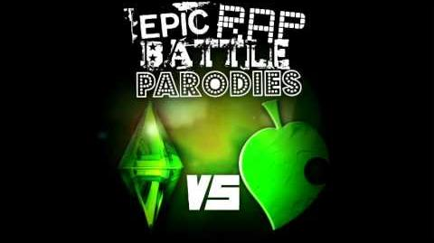 The Sims vs Animal Crossing. Epic Rap Battle Parodies 55.