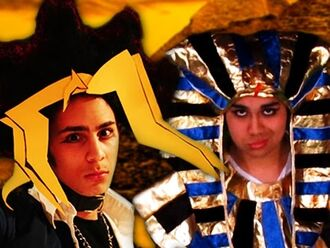 King Tut vs Yugi Muto - Epic Rap Battle Parodies Season 4