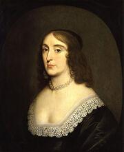 Elizabeth, Queen of Bohemia by Gerrit van Honthorst
