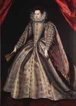 Ambito fiammingo - Elisabetta di Lorena, duchessa di Baviera, 1600 ca