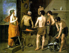 Diego Velasquez The Forge of Vulcan