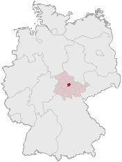 Erfurt-Position