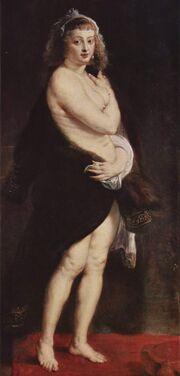 Peter Paul Rubens wifehelene