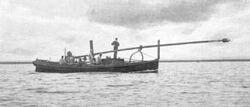 19th century Spar torpedo boat