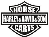 Harley & David & Son Horse & Cart