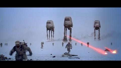 Battle of Hoth - Empire Strikes Back 1080p HD