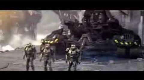 Halo Wars Spartans Vs Elites Cutscene