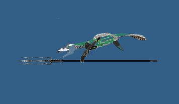 Sea armored male
