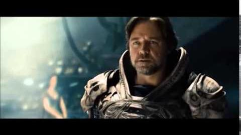 Jor El fights Zod