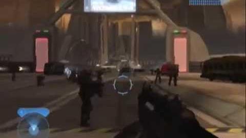 HALO 2 Mod--Elites VS Marines on Metropolis