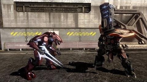 Halo 3 - AI Battle - Sword Elites vs Brute Chieftains