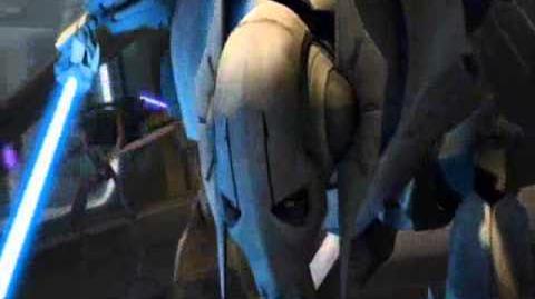 Clone Wars Season 5 Obi Wan vs Grievous