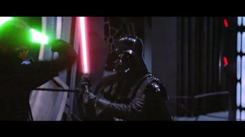 Star wars VI luke v.s darth vader 1983 HD