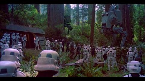Battle of Endor (Ewok Only) - Return of the Jedi 1080p HD