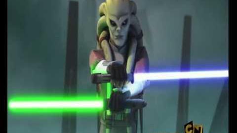 Star Wars Kit Fisto v General Grievous