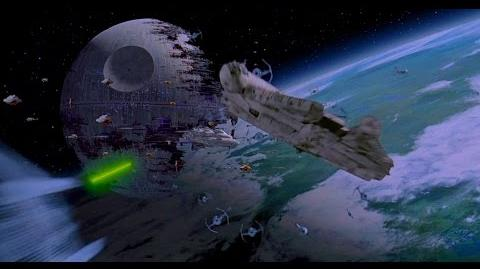 Battle of Endor (Space Only) - Return of the Jedi 1080p HD